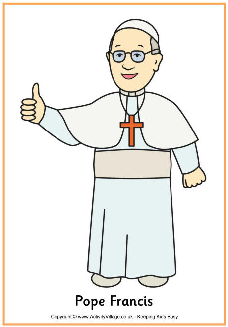 Pope francis clipart.