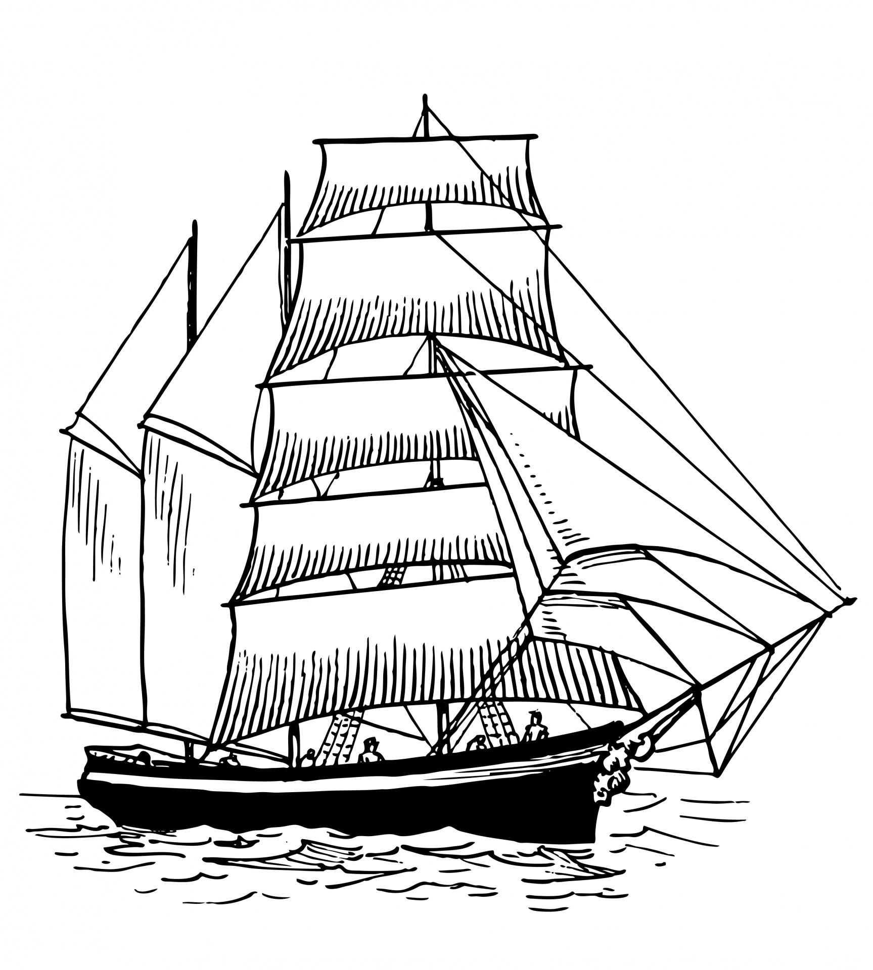 Francisco Pizarros Ship Francisco clipart - Cl...