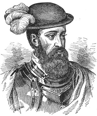 Clip Art of Francisco Pizarro.