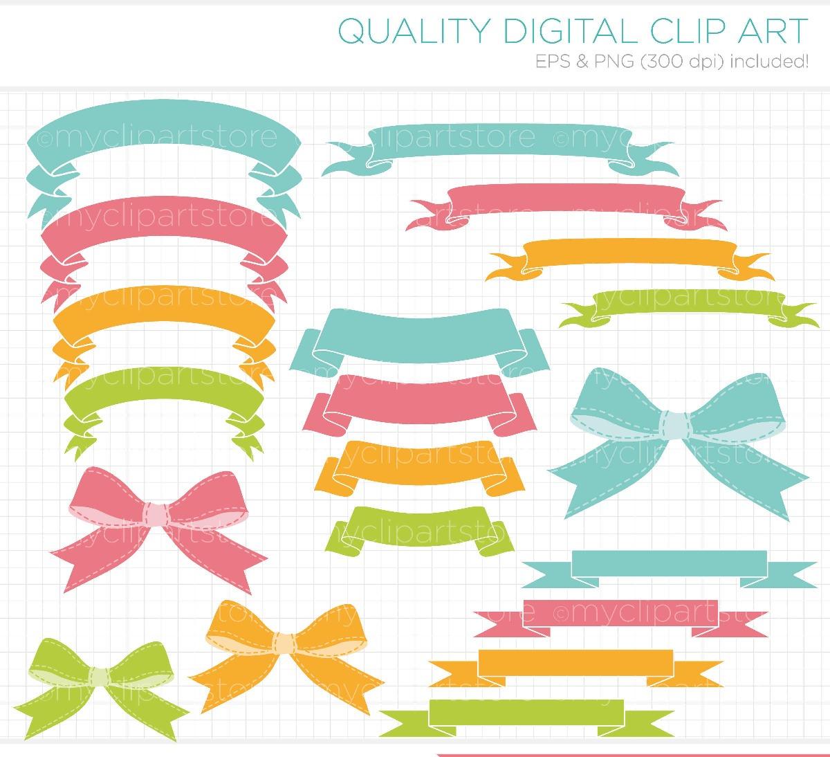 Kit Imprimible Franjas Bandas Lazos Cinta 7 Imagenes Clipart.