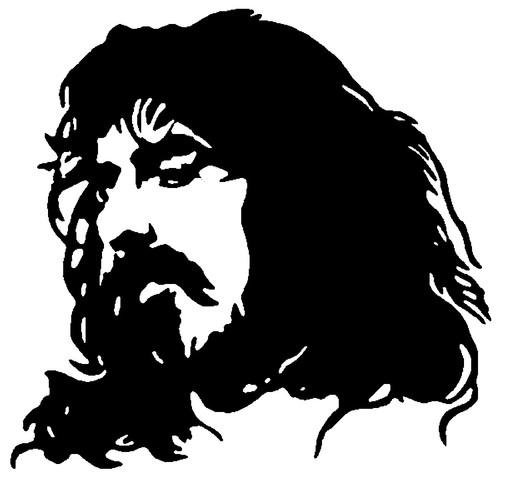 Frank Zappa Clipart.