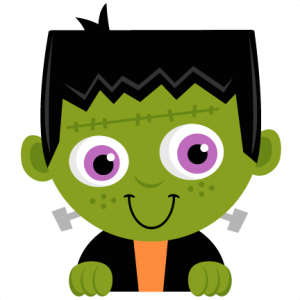 Cute frankenstein clipart.