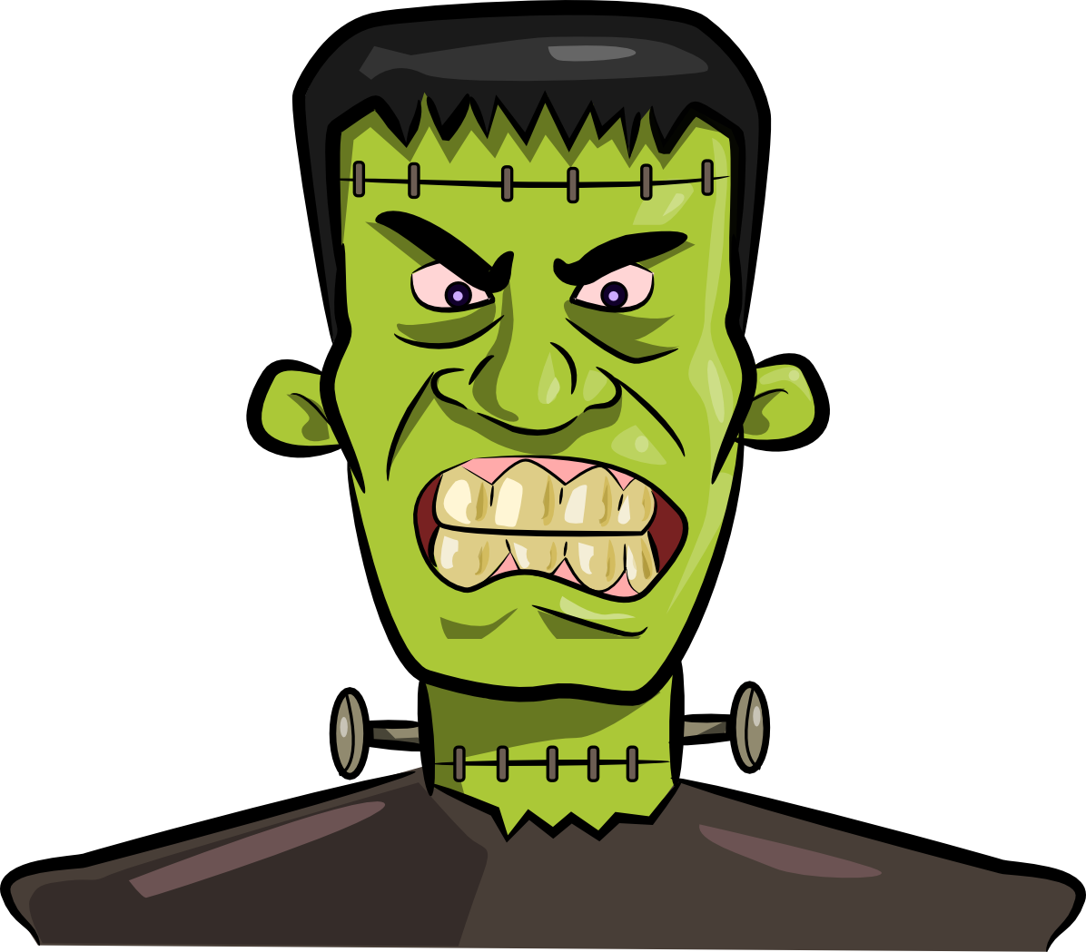 Halloween Frankenstein Clipart.