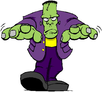 Free Frankenstein Clipart Pictures.