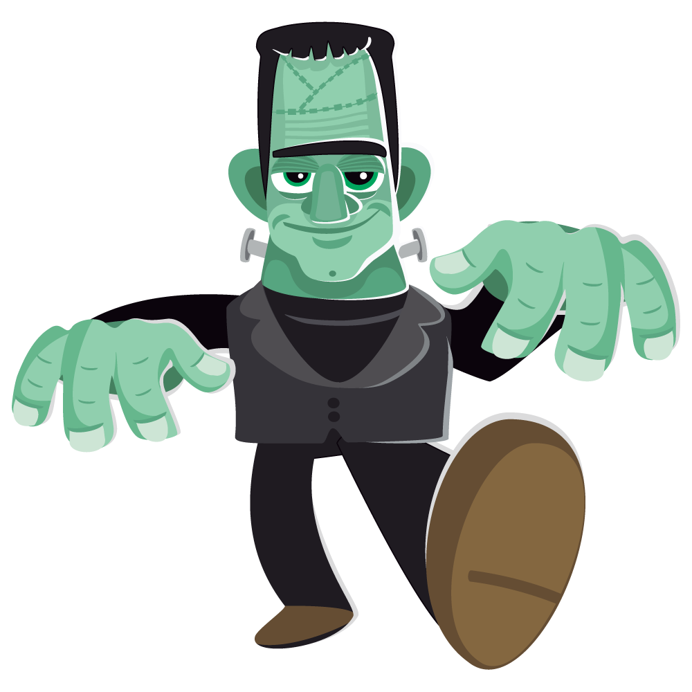 Free to Use & Public Domain Frankenstein Clip Art.