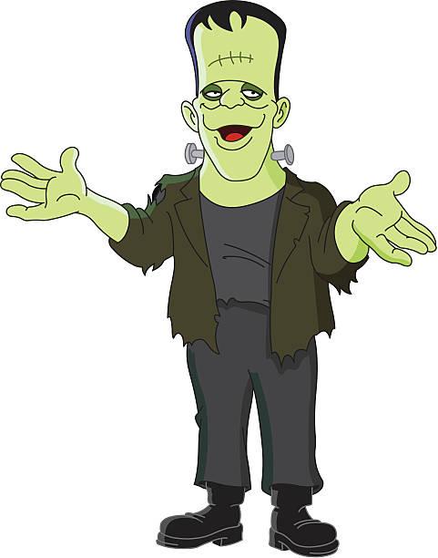 Best Frankenstein Illustrations, Royalty.