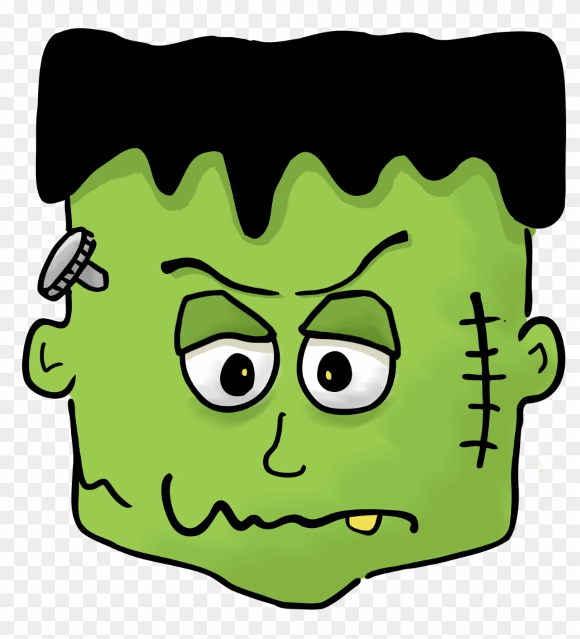 Frankenstein Clipart Brain.