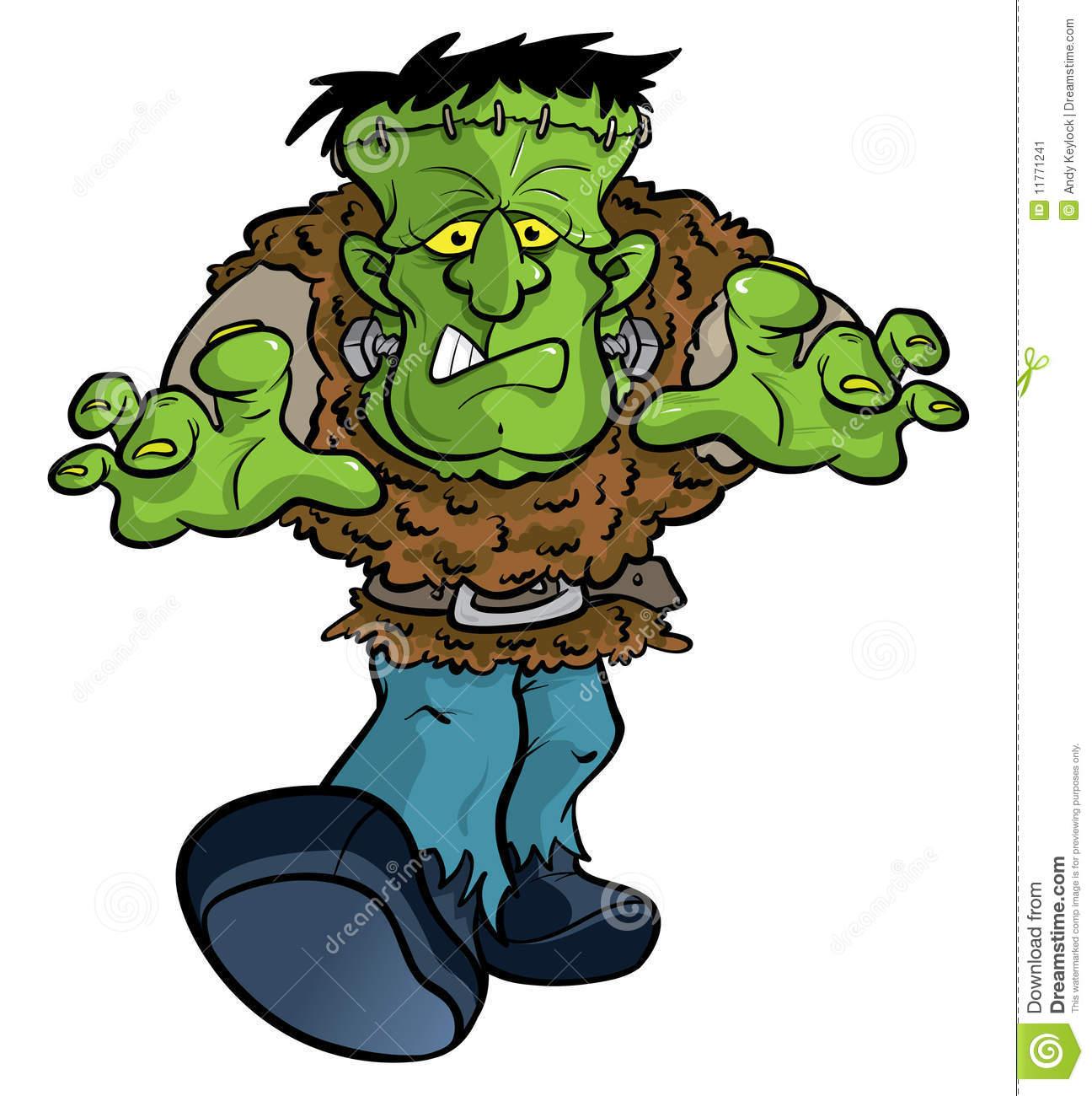 Frankenstein Clipart.