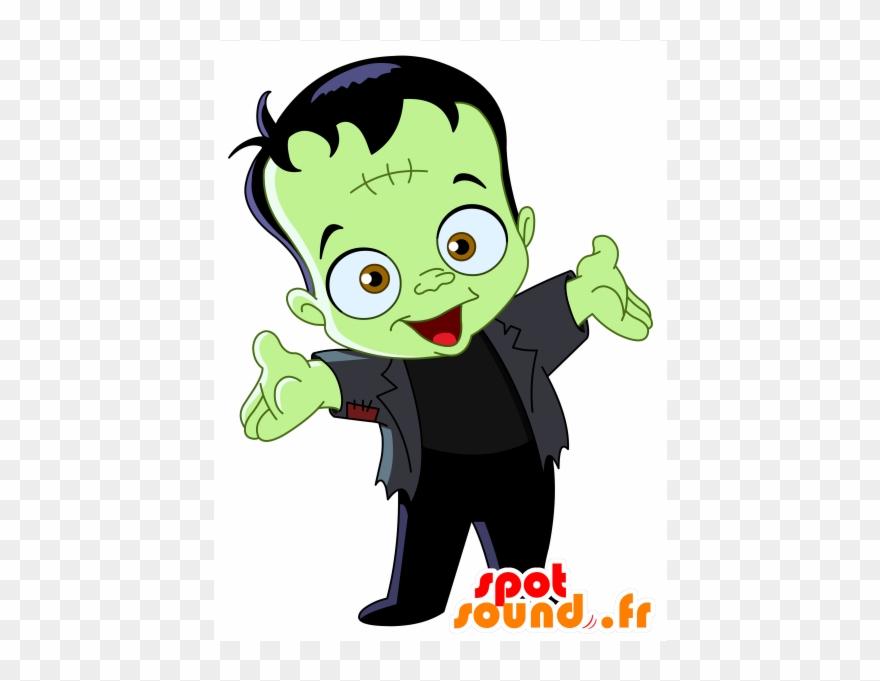 Mascot Of The Frankenstein Monster Clipart (#2290606).