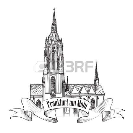 532 Frankfurt Germany Stock Vector Illustration And Royalty Free.