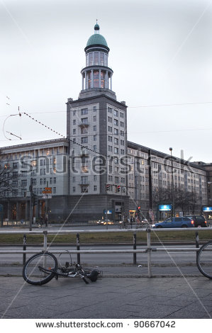 Karl Marx Allee Stock Photos, Royalty.