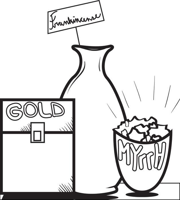 Gold frankincense and myrrh clipart 7 » Clipart Station.