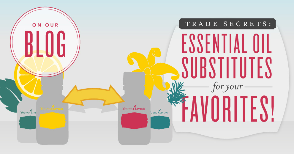 Essential Oil Substitution Guide.