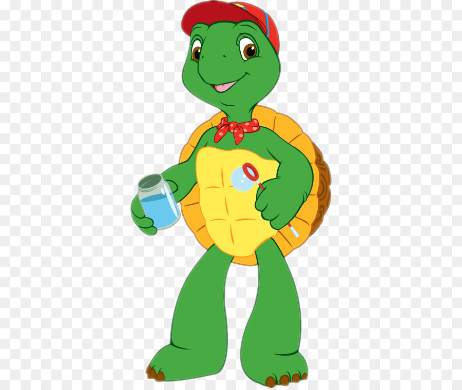 Franklin The Turtle clipart.