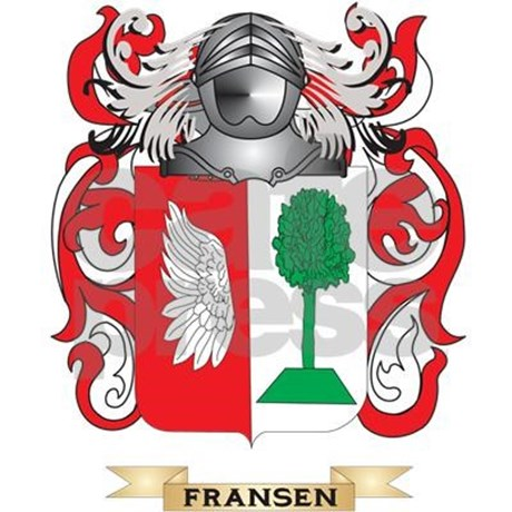 Fransen Coat of Arms Water Bottle by listing.