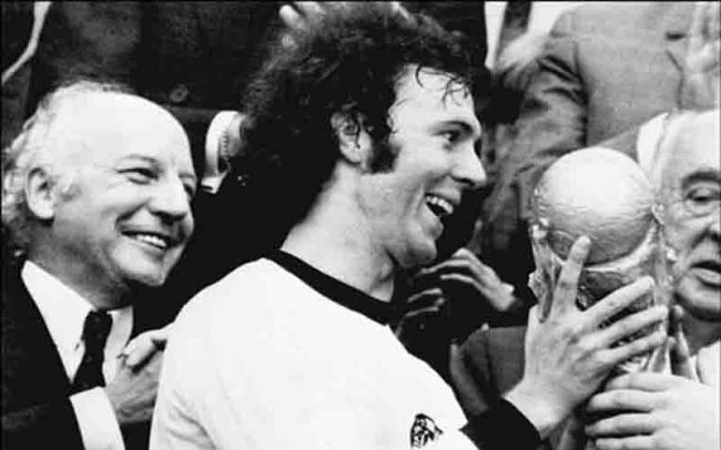 Franz Beckenbauer: Imperious Kaiser.