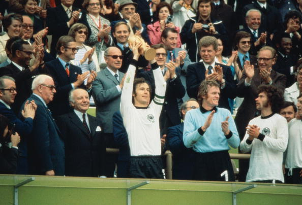 Franz Beckenbauer: All hail Der Kaiser.