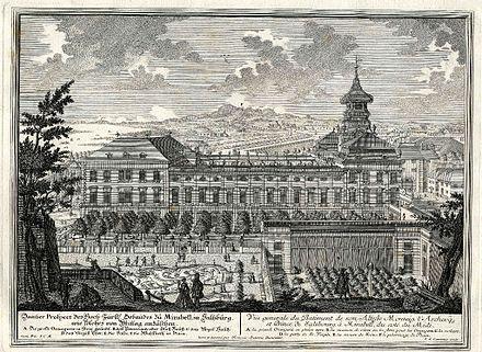 Schloss Mirabell.