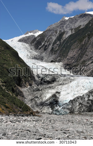 Franz Josef Glacier Stock Photos, Royalty.