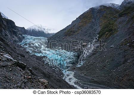 Picture of Franz Joseph Glacier, New Zealand.