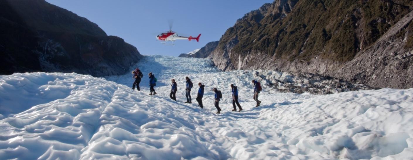 New Zealand Glaciers.