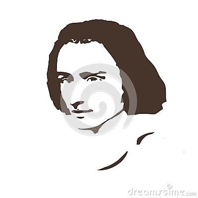 Liszt Stock Illustrations.
