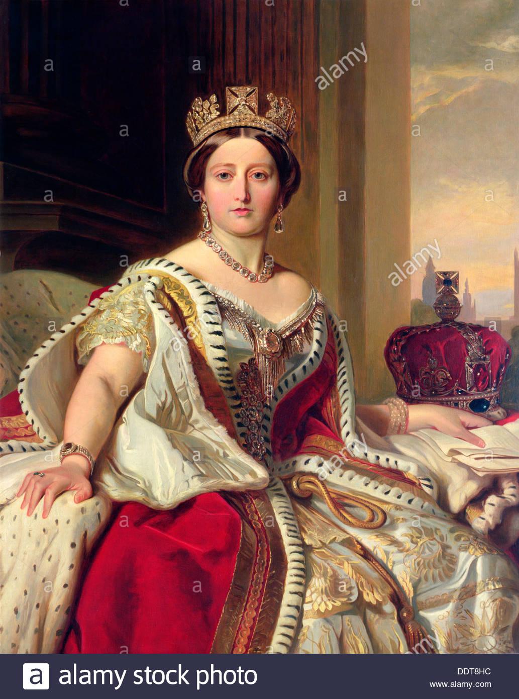 Queen Victoria Portrait Stock Photos & Queen Victoria Portrait.