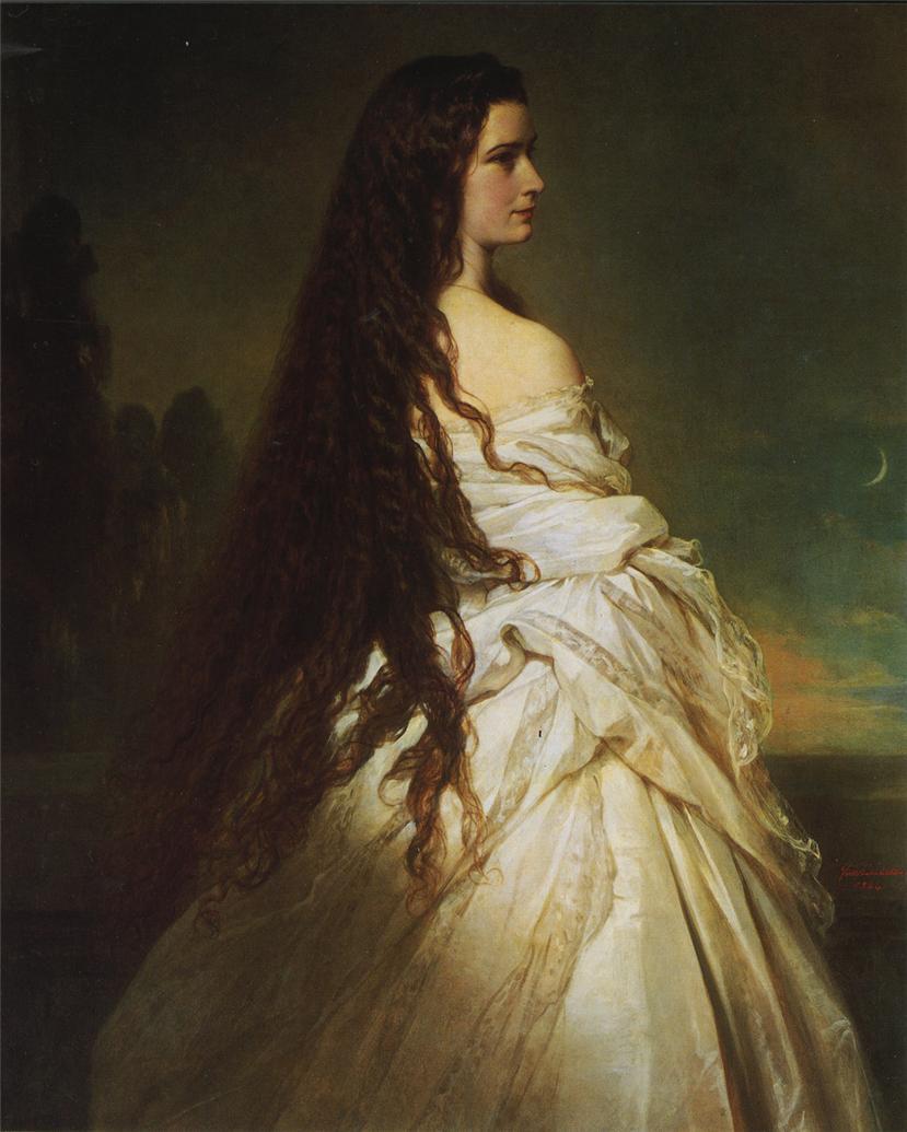 Очаровательная Елизавета Баварская (Sissi)..