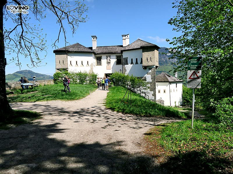Wandern auf dem Kapuzinerberg.