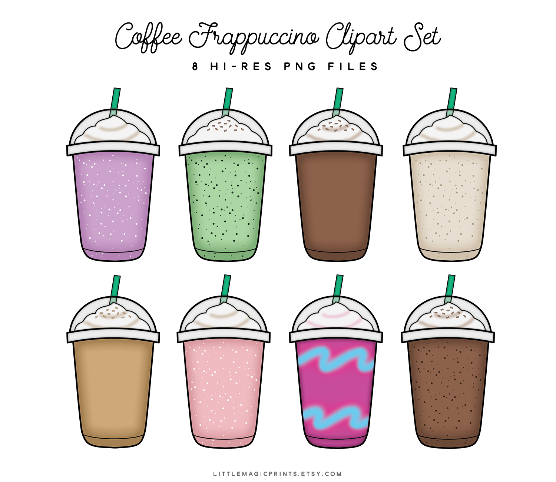 Coffee Frappuccino Set (Plain).