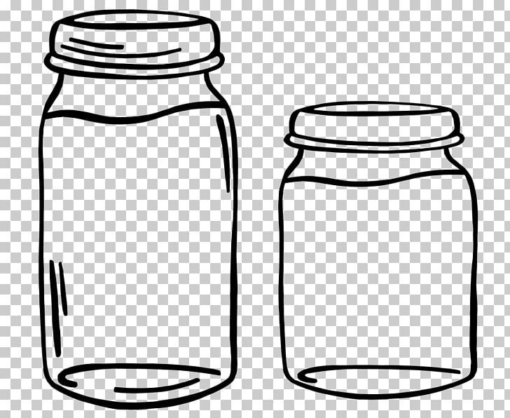 Frasco contenedor de vidrio, frasco PNG Clipart.