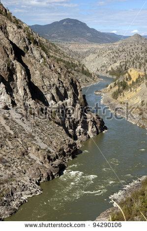 Fraser River Stock Photos, Royalty.