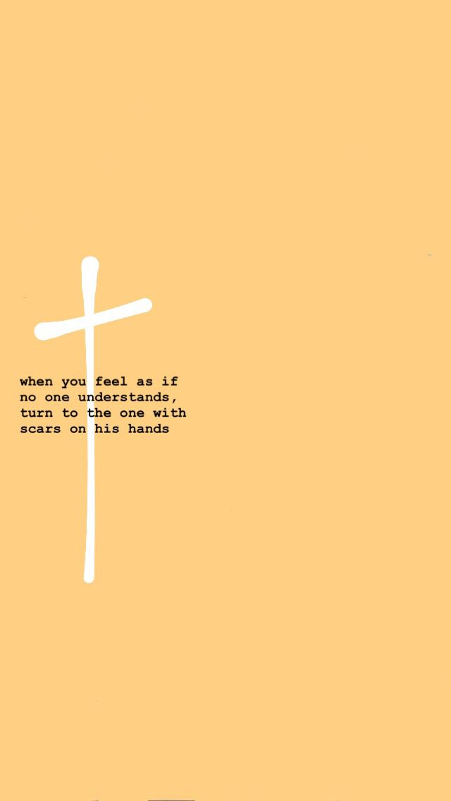 Jesus In The Cross With Frases Wallpaper.