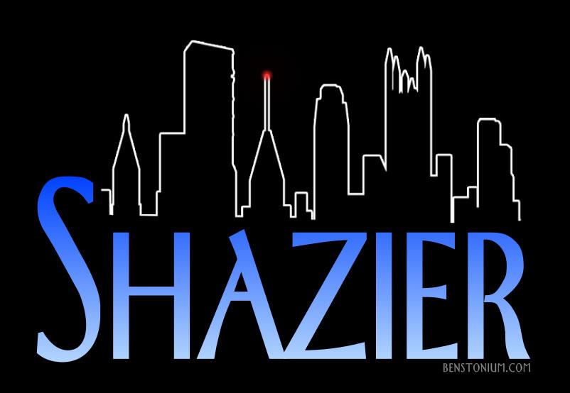 Shazier / Frasier Logo.