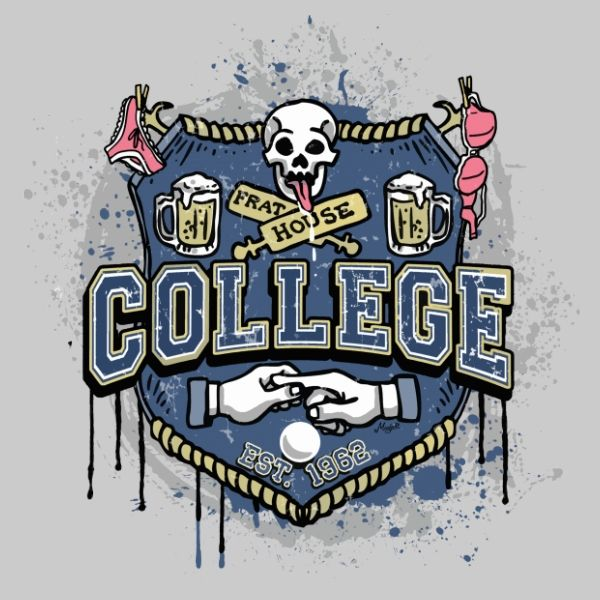 College Frat House Logo in 2019.