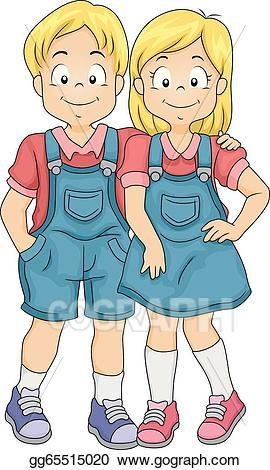Fraternal twins clipart 5 » Clipart Portal.