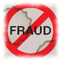 Report Fraud Clip Art.
