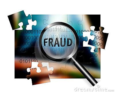Fraud prevention clipart.