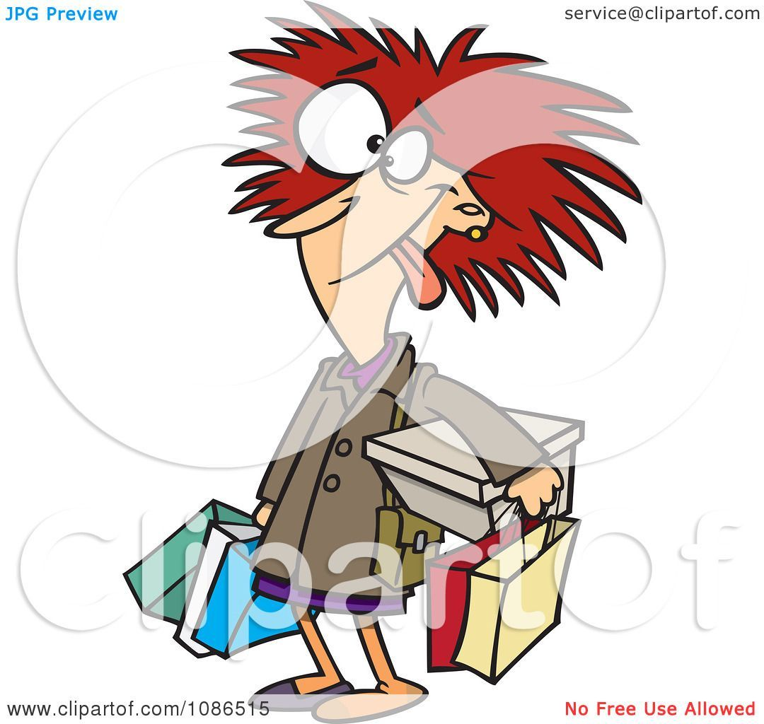 Frazzled woman clipart » Clipart Portal.