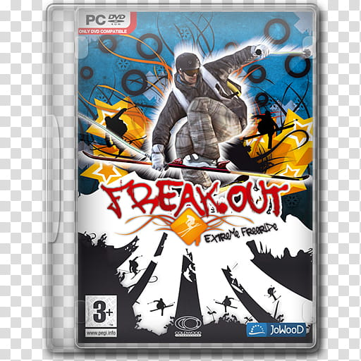 Game Icons , Freak Out Extreme Freeride transparent.