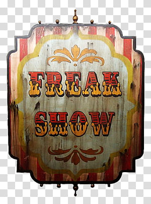 Freak Show transparent background PNG cliparts free download.