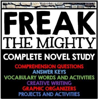 17 best ideas about Freak The Mighty on Pinterest.
