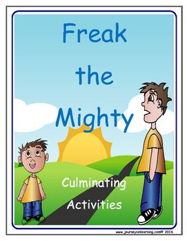 25+ best ideas about Freak The Mighty on Pinterest.