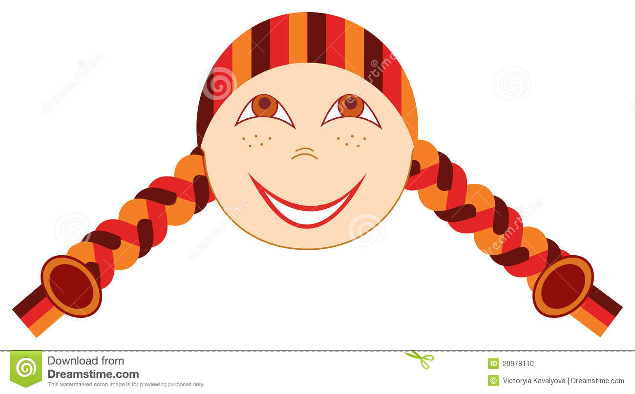 Freckled Face Stock Illustrations.