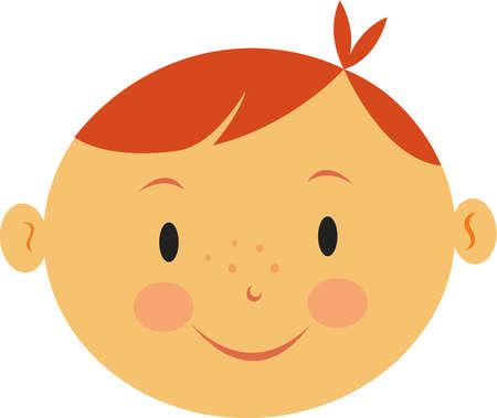 Dimples On Face Clipart.