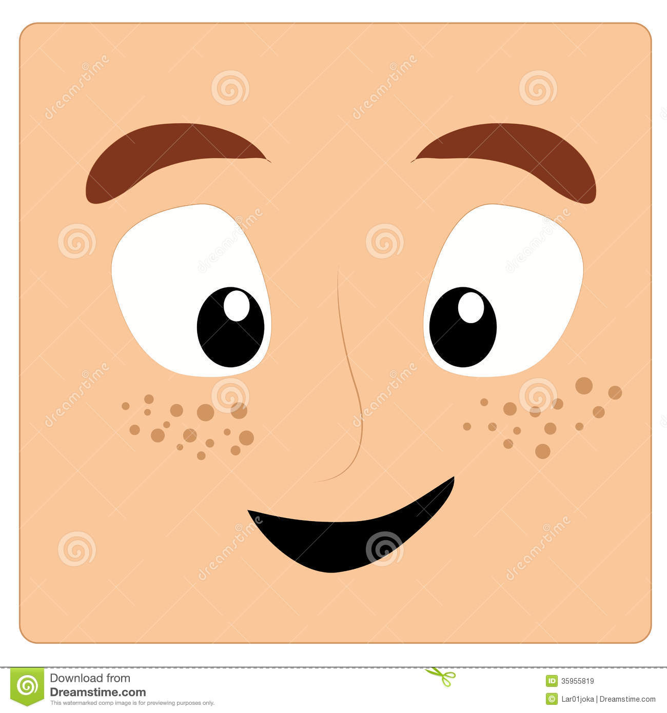 Freckles Clipart Clipground