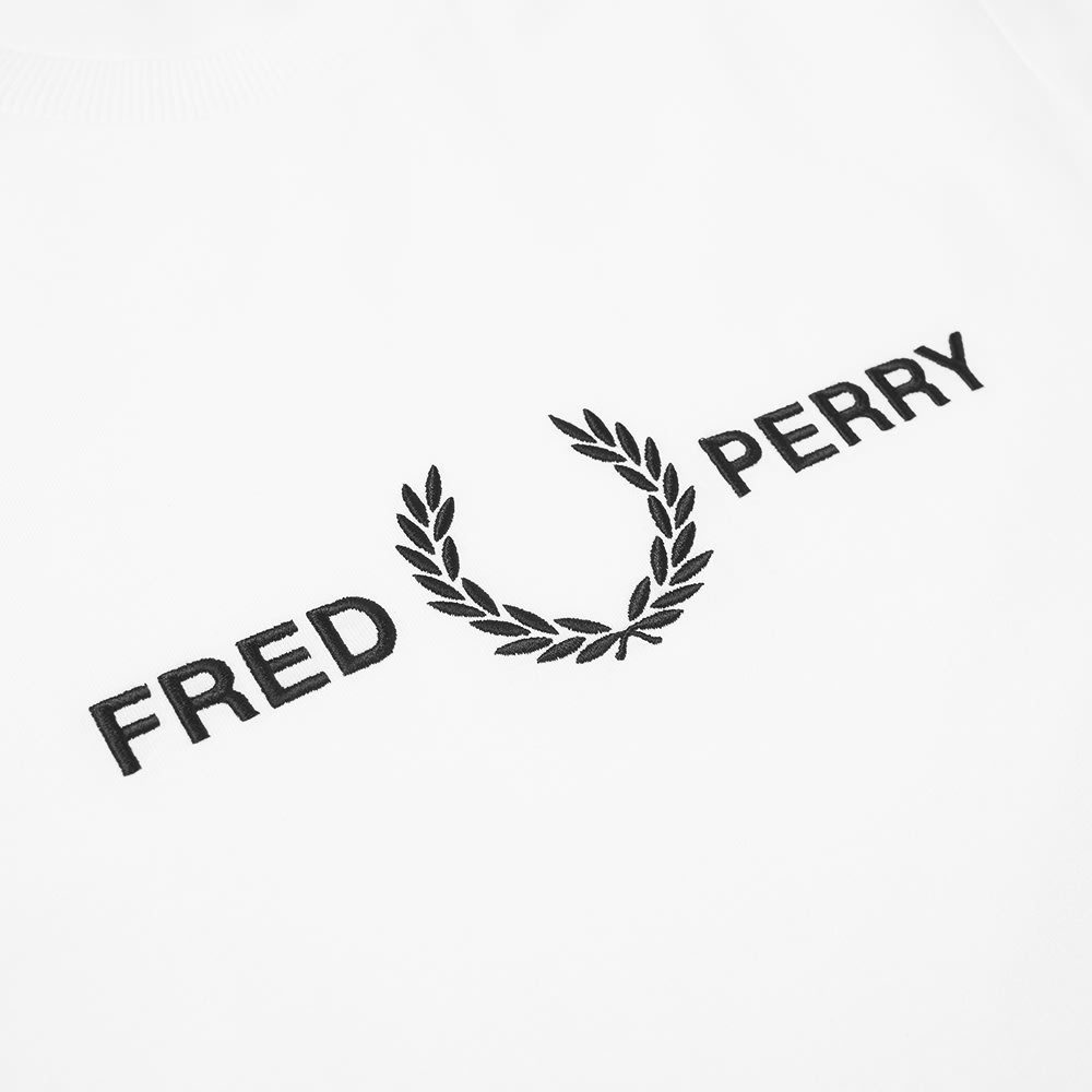 Fred Perry Authentic Embroidered Logo Tee.