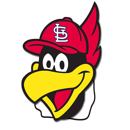 St. Louis Cardinals Fredbird Mask.