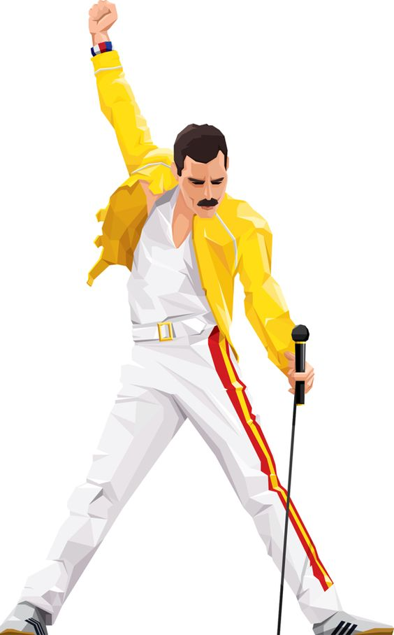 Freddie mercury clipart #5