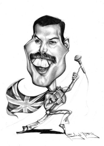 Freddie Mercury By bpatric.